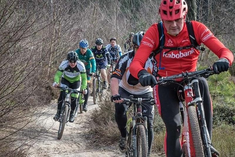 De omgeving Sallandse Heuvelrug Nijverdal Twente mountainbiken Nijverdal